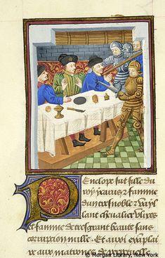 Literary France, probably Paris or possibly the Loire region, ca. 1460 MS M.381 fol. 20v