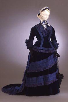 Day dress ca. 1873-75 From the Galleria del Costume di Palazzo Pitti via Europeana Fashion