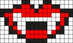 Vampire Perler Pattern Perler Bead Pattern / Bead Sprite