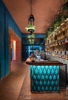 Modern Restaurant Design, Architecture Restaurant, Deco Restaurant, Luxury Restaurant, Lounge Design, Lounge Bar, Bar Interior Design, Cafe Design, Bar Pub