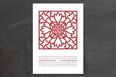 $2.34 Double Happiness Screen Wedding Invitations by Pho... | Minted