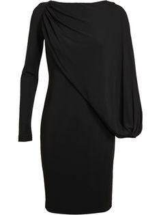 GIVENCHY Draped Stretch Jersey Dress