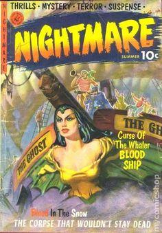 NIGHTMARE 1, GOLDEN AGE COMIC