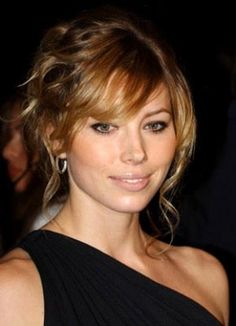 bangs for round face - Google Search