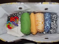 How to Pack a Cloth Diapering Bag