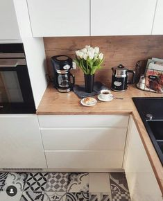 Unique beautiful a guide to efficient small kitchen design for apartment 39 – fugar Kitchen Flooring, Kitchen Furniture, Kitchen Decor, Kitchen Design, Kitchen Ideas, Floor Design, House Design, Cuisines Design, Interior Design Living Room