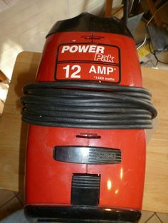 Dirt Devil Vacuum, Canister Vacuum, Canisters, Coffee Cans, Drink Bottles, Vacuums, Ebay, Vacuum Cleaners, Container