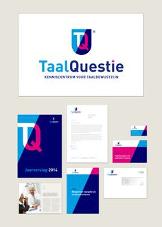 logo, huisstijl-identiteit TaalQuestie, onderdeel van Bond tegen vloeken, 2012