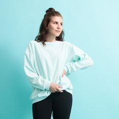 Shy Vibes Club - Sweat Shirt - Mint