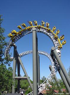 Tornado | Särkänniemi Amusement Park | Finland/ #freizeitpark #themepark #rollercoaster #Achterbahn #Achterbahnpark