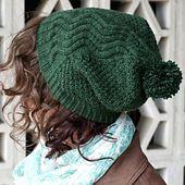 Ravelry: Kaweah Hat pattern by Veronica Parsons free pattern ... DK wgt ... 240 yards