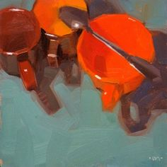 Spoon Over Two, painting by artist Carol Marine