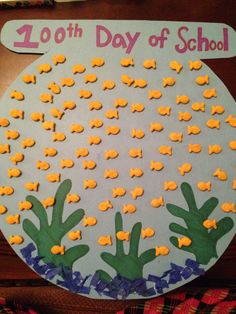 100th day of school poster