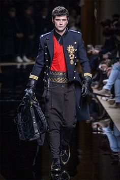 Balmain Channels French Aristocratic Style for Fall Collection