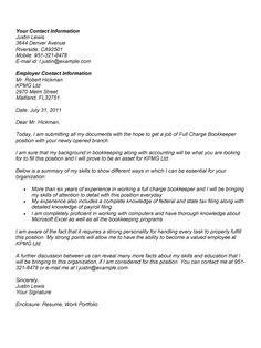 full charge bookkeeper cover letter httpwwwresumecareerinfo cover letter sampleresume - Sample Resume And Cover Letter