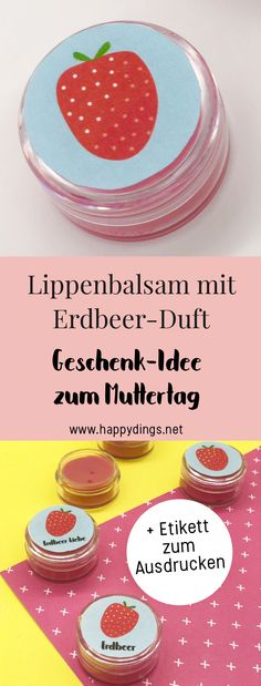 Take care of your lips: ideas for crafts in the summer with video, Best Friend Gifts, Gifts For Friends, Diy Mothers Day Gifts, Mother's Day Diy, Take Care Of Yourself, Diy Cards, Diy For Kids, Diy And Crafts, Lips