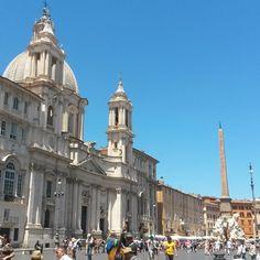 Piazza Navona. Roma  #piazzanavona#roma#igersroma#igerslazio#igersitalia#picoftheday#instatravel#travel#touristforaday#adayinrome#mylife#beautifulplace#italianplace#lovesroma#romanelcuore