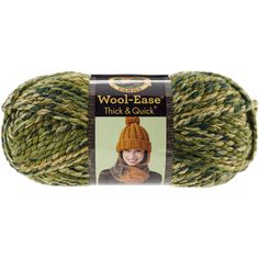 Lion Brand Wool-Ease Thick & Quick Yarn-Camouflage