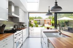 Refurbished home in Twickenham London by Granit Architects. #architecture #client