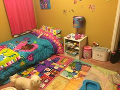 My daughters Doc Mcstuffins bedroom