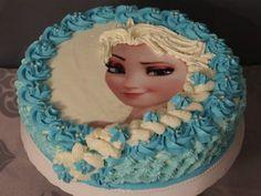 Prinzessin Elsa Torte Cake