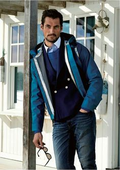 David Gandy Selected Menswear  2014