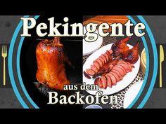 PEKINGENTE aus dem Backofen - YouTube Youtube Cooking, Pot Roast, Turkey, Meat, Ethnic Recipes, Stress, Food, Party, Eat Lunch