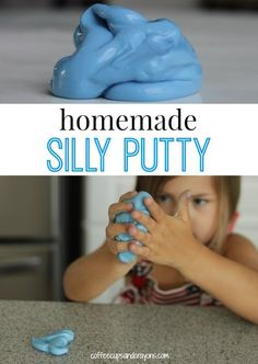 Homemade Silly Putty Recipe - Coffee Cups and Crayons