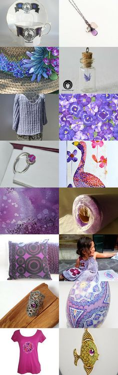 LAVENDER GARDEN by William Rosenberg on Etsy--Pinned with TreasuryPin.com