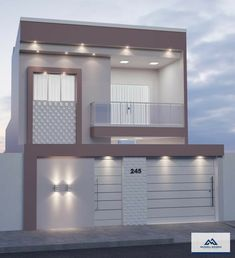 Minimal House Design, Modern Small House Design, Small House Interior Design, Duplex House Design, House Outside Design, House Front Design, House Construction Plan, Modern House Facades, Model House Plan