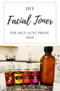 Check out how to make this DIY all natural facial toner with essential oils! This homemade toner will help promote beautiful clear skin for those with oily or acne prone skin! skincare DIY Toner For Oily And Acne Prone Skin - Homemade Toner, Homemade Skin Care, Homemade Products, Diy Products, Toner For Face, Facial Toner, Natural Facial, Natural Skin Care, Natural Beauty