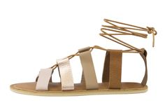 Ombre is in, so why not have it on your sandals too? Pledge to our Kickstarter and you can design your own sandals just like these Brave Wrap ombre sandals (or something completely your own)