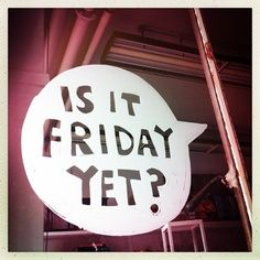 YES it is! #Happy #Friday All! x