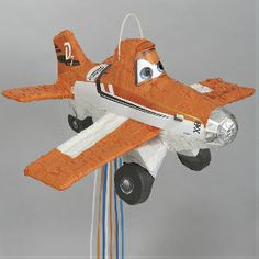Disney Planes: Jumbo 3D Pull String Pinata Party Supplies Canada & Halloween Supplies Canada - Open A Party
