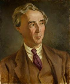 Bertrand RUssell Portrait by Roger Fry