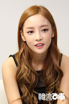 Goo Hara Korean Beauty, Asian Beauty, Goo Hara, Blonde Asian, Kpop Hair, Coily Hair, Sulli, Celebs, Celebrities