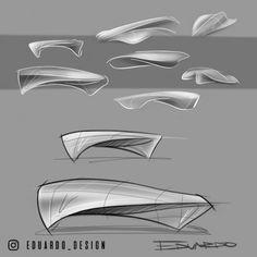 ID sketch sketchbook sketches product design industrial Art Furniture, Small Room Furniture, Modern Wooden Furniture, Drawing Furniture, Bedroom Furniture Design, Design Bedroom, Home Design, Diy Design, Design Art