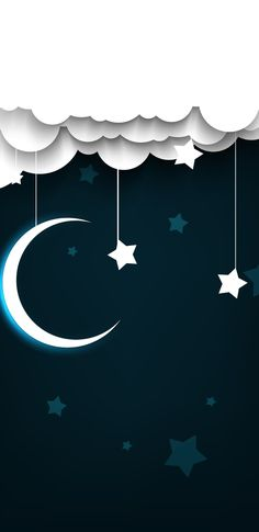 Flag, Moon, Sky, Country, Wallpaper, Heaven, Rural Area, The Moon, Wallpapers
