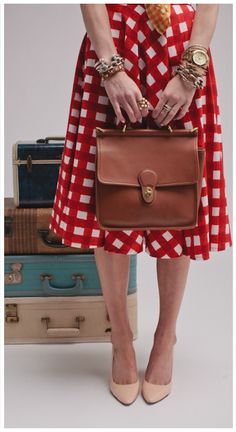 Gingham and retro..match made in Oobi heaven #oobibaby