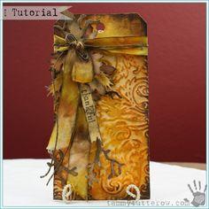 Tammy Tutterow | Thankful Art Tag Tutorial