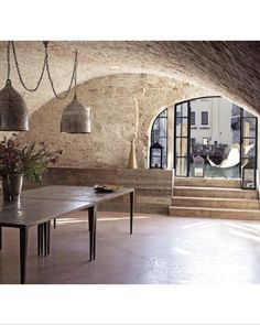 The beautiful Casa Miani on an canal in Venice.. no words! Interiors by the talented Italian designer Ilaria Miani. #interiors #interiordesign #stone #architecture #history #venice #italy #camargue #sydney #mosman