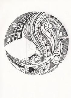 Polynesian tattoo!