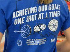 Shirt ideas for shooting sports Skeet Shooting, Trap Shooting, Shooting Targets, Shooting Sports, Archery Shirts, Rifle Targets, Sporting Clays, Sports Clubs, Team Shirts