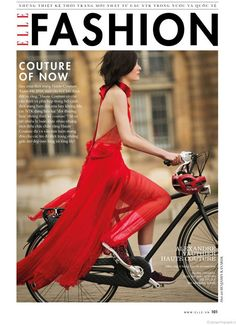 Tour de France: Mar Gonzalez by Benjamin Kanarek for ELLE Vietnam — Bike Pretty
