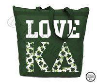 Kappa Delta Love Tote -ΚΔ Collection. Design Exclusive to BoutiqueGreek.com