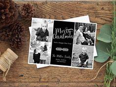 Christmas Digital Card, Holiday Card, Printable Card, Photo Christmas Cards, Seasons Greetings. Printable Cards, Family Photo Cards by PoppyPaperDesigns on Etsy https://www.etsy.com/listing/545452840/christmas-digital-card-holiday-card