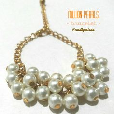 Handmade diy accessories jewelry double ring bracelet necklace online shop trusted seller, twitter & IG @cmdbymirna, jakarta, indonesia