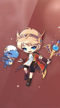 메이플스토리 :: maplestory Story Characters, Manga Characters, Fictional Characters, Chibi, Concept Art, Digital Art, Character Design, Geek Stuff, Kawaii