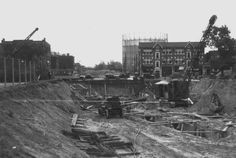Express Highway (US 40) construction at Kingshighway 1935
