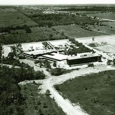 We've come a long way since 1970. This is what the Trafalgar campus looked like back then. #tbt